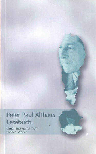 Buchcover Peter Paul Althaus Band 1