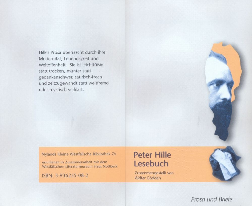 Lesebuch Peter Hilld Prosa und Briefe